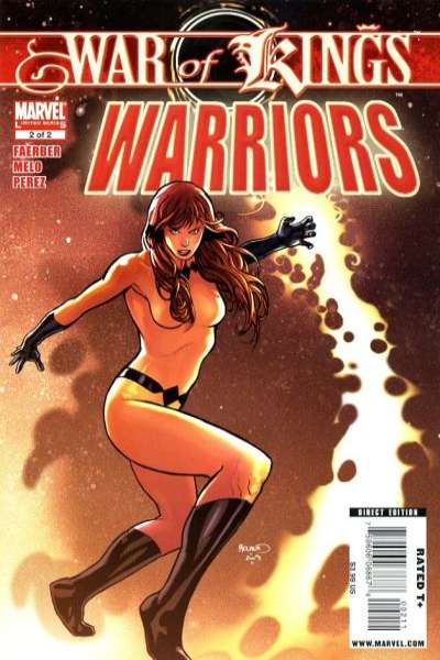 War of Kings: Warriors #2 comic books for sale