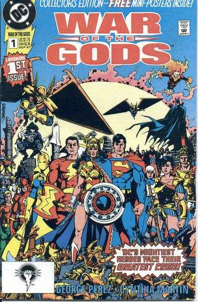 War of the Gods #1 comic books for sale