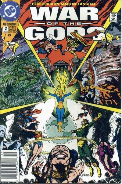 War of the Gods #2 comic books - cover scans photos War of the Gods #2 comic books - covers, picture gallery