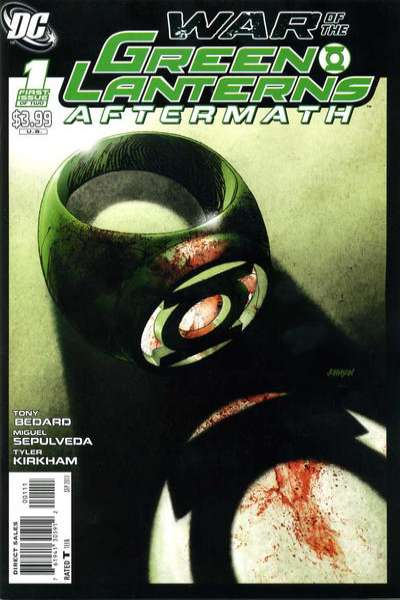 War of the Green Lanterns: Aftermath comic books
