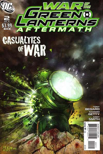 War of the Green Lanterns: Aftermath #2 comic books for sale