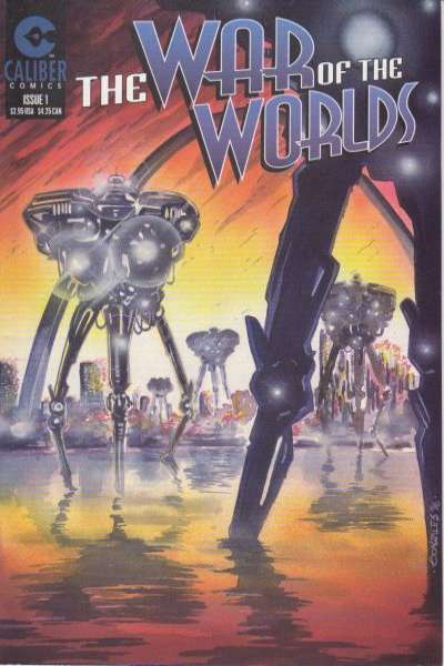 War of the Worlds Comic Books. War of the Worlds Comics.