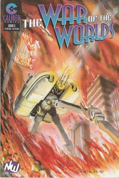 War of the Worlds #3 comic books for sale