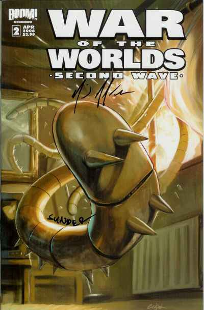 War of the Worlds: Second Wave #2 Comic Books - Covers, Scans, Photos  in War of the Worlds: Second Wave Comic Books - Covers, Scans, Gallery