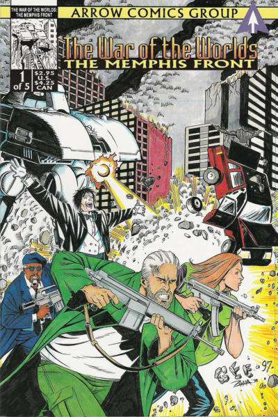 War of the Worlds: The Memphis Front #1 Comic Books - Covers, Scans, Photos  in War of the Worlds: The Memphis Front Comic Books - Covers, Scans, Gallery