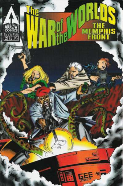 War of the Worlds: The Memphis Front #2 Comic Books - Covers, Scans, Photos  in War of the Worlds: The Memphis Front Comic Books - Covers, Scans, Gallery
