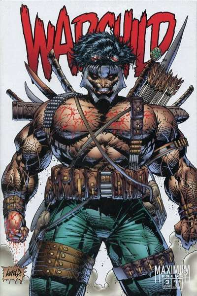 Warchild #3 comic books for sale