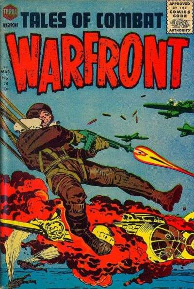 Warfront #28 comic books for sale