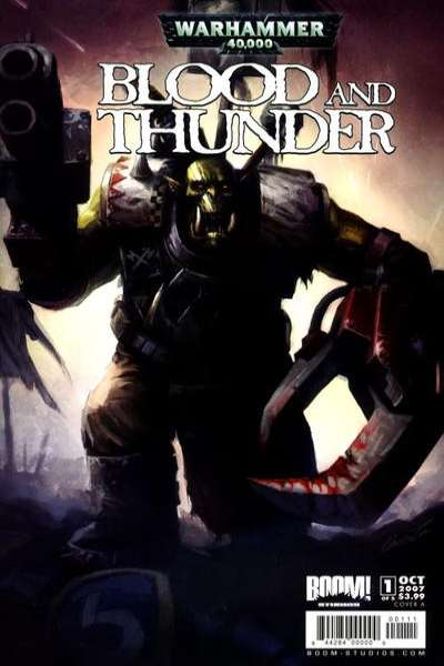 Warhammer 40000: Blood and Thunder #1 comic books - cover scans photos Warhammer 40000: Blood and Thunder #1 comic books - covers, picture gallery