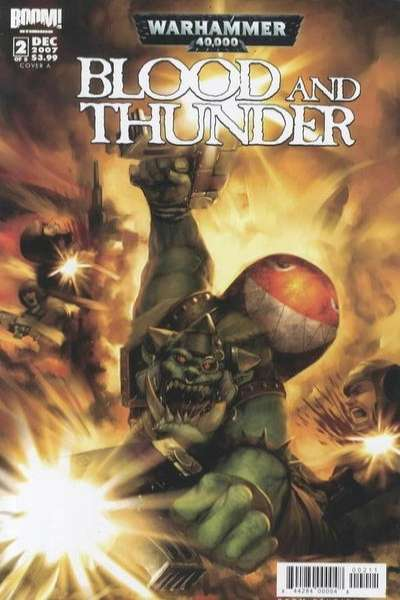 Warhammer 40000: Blood and Thunder #2 comic books - cover scans photos Warhammer 40000: Blood and Thunder #2 comic books - covers, picture gallery