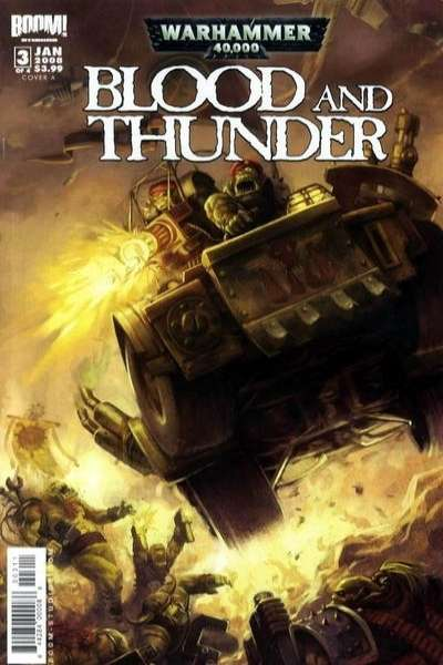 Warhammer 40000: Blood and Thunder #3 comic books - cover scans photos Warhammer 40000: Blood and Thunder #3 comic books - covers, picture gallery