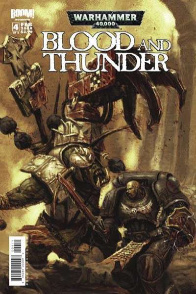 Warhammer 40000: Blood and Thunder #4 Comic Books - Covers, Scans, Photos  in Warhammer 40000: Blood and Thunder Comic Books - Covers, Scans, Gallery