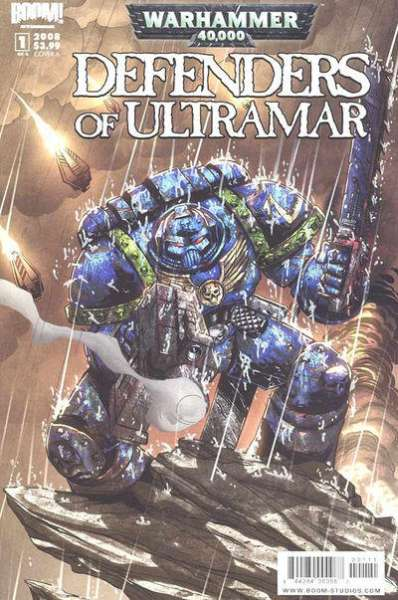 Warhammer 40000: Defenders of Ultramar comic books