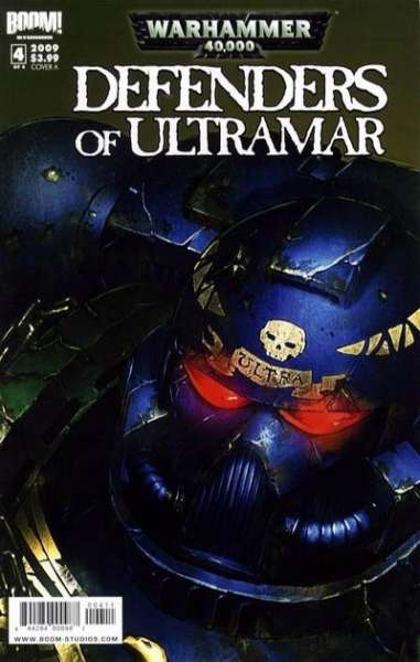 Warhammer 40000: Defenders of Ultramar #4 comic books - cover scans photos Warhammer 40000: Defenders of Ultramar #4 comic books - covers, picture gallery