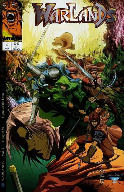 Warlands #4 comic books - cover scans photos Warlands #4 comic books - covers, picture gallery