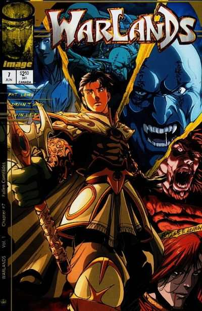 Warlands #7 comic books - cover scans photos Warlands #7 comic books - covers, picture gallery