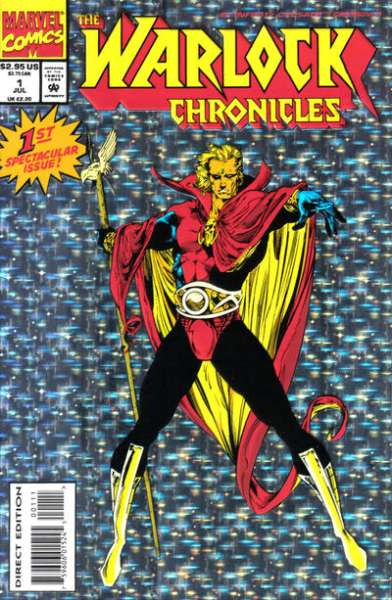 Warlock Chronicles comic books