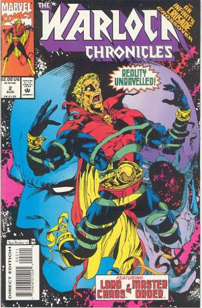 Warlock Chronicles #2 Comic Books - Covers, Scans, Photos  in Warlock Chronicles Comic Books - Covers, Scans, Gallery