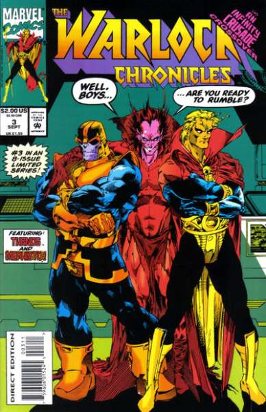 Warlock Chronicles #3 Comic Books - Covers, Scans, Photos  in Warlock Chronicles Comic Books - Covers, Scans, Gallery