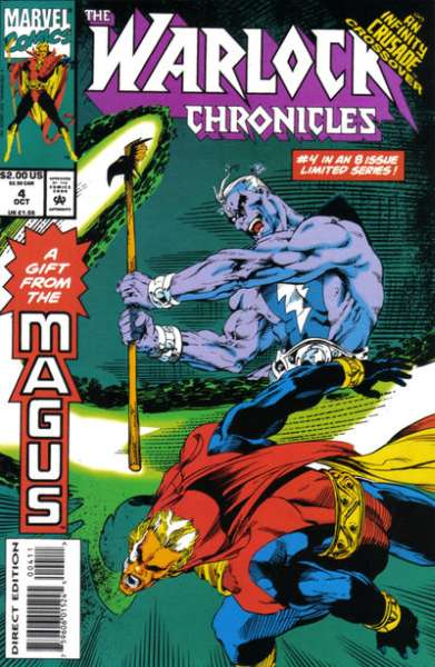 Warlock Chronicles #4 Comic Books - Covers, Scans, Photos  in Warlock Chronicles Comic Books - Covers, Scans, Gallery