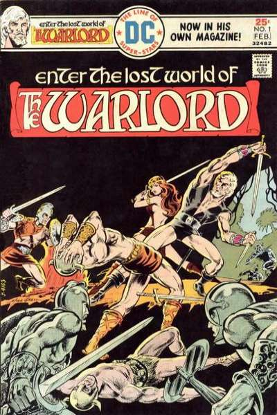 Warlord # comic book complete sets Warlord # comic books