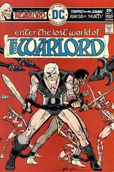 Warlord comic books