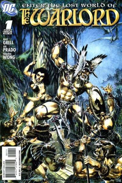 Warlord #1 comic books - cover scans photos Warlord #1 comic books - covers, picture gallery