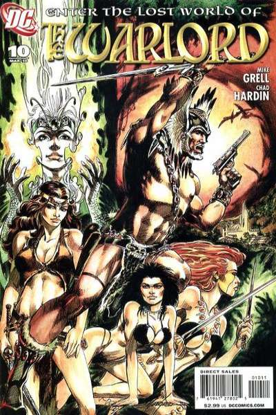 Warlord #10 comic books - cover scans photos Warlord #10 comic books - covers, picture gallery