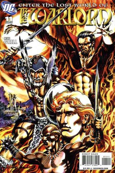Warlord #11 comic books - cover scans photos Warlord #11 comic books - covers, picture gallery
