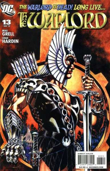 Warlord #13 comic books - cover scans photos Warlord #13 comic books - covers, picture gallery