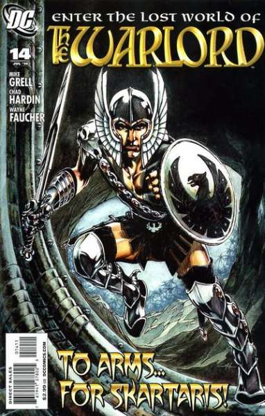 Warlord #14 comic books - cover scans photos Warlord #14 comic books - covers, picture gallery