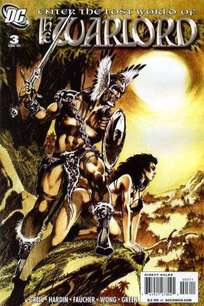 Warlord #3 comic books - cover scans photos Warlord #3 comic books - covers, picture gallery