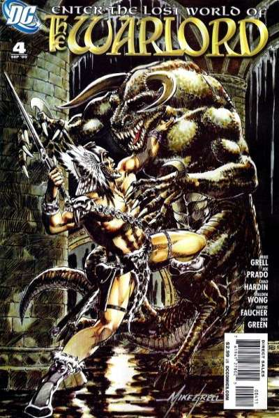 Warlord #4 comic books - cover scans photos Warlord #4 comic books - covers, picture gallery