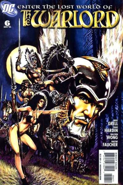Warlord #6 comic books - cover scans photos Warlord #6 comic books - covers, picture gallery