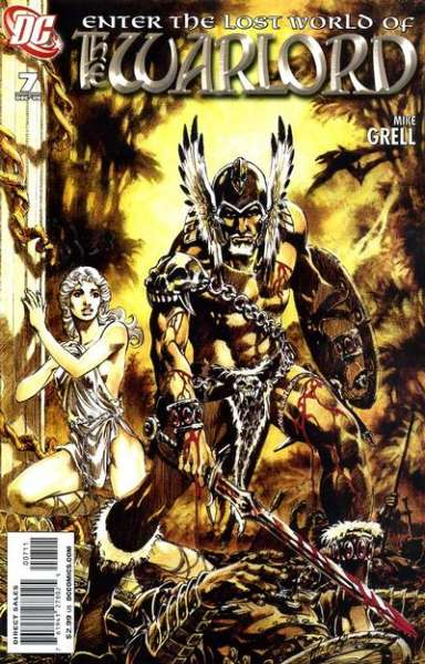 Warlord #7 comic books - cover scans photos Warlord #7 comic books - covers, picture gallery