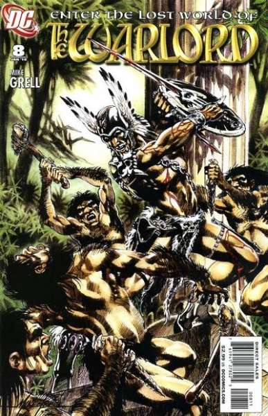 Warlord #8 comic books - cover scans photos Warlord #8 comic books - covers, picture gallery