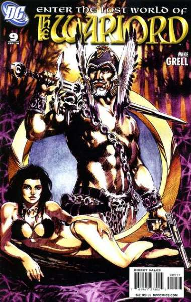 Warlord #9 comic books - cover scans photos Warlord #9 comic books - covers, picture gallery