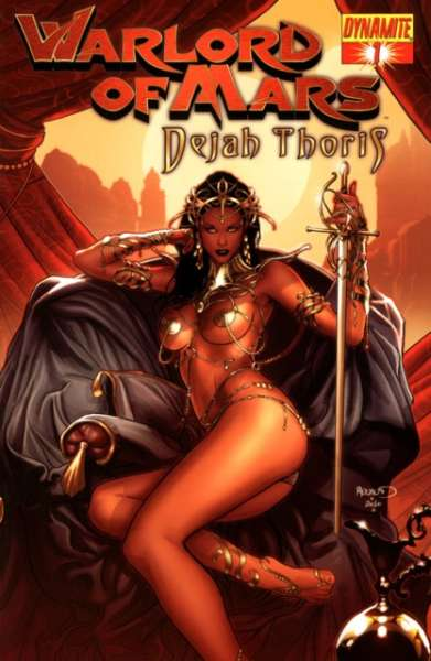 Warlord of Mars: Dejah Thoris comic books