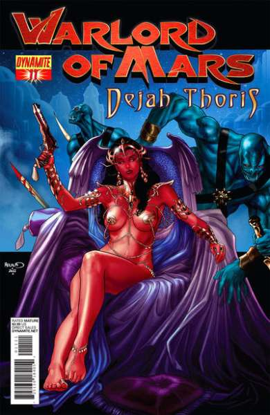 Warlord of Mars: Dejah Thoris #11 comic books for sale