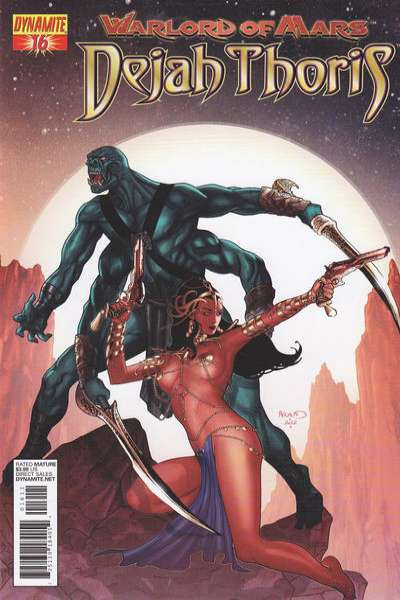 Warlord of Mars: Dejah Thoris #16 comic books for sale