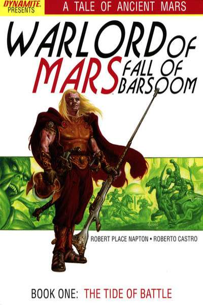 Warlord of Mars: Fall of Barsoom comic books