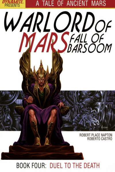 Warlord of Mars: Fall of Barsoom #4 comic books for sale