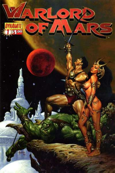 Warlord of Mars comic books