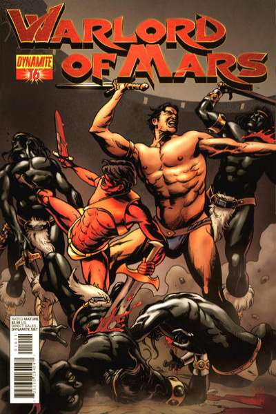Warlord of Mars #16 comic books for sale