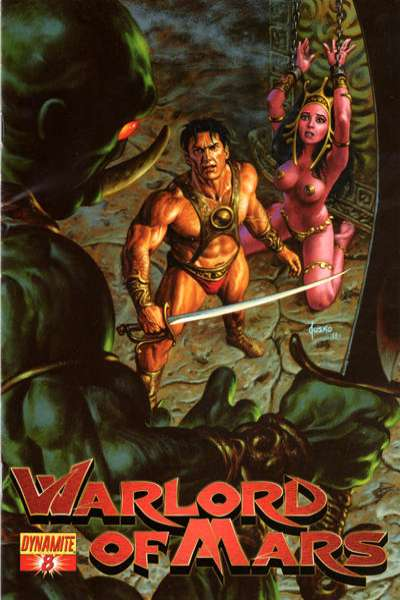 Warlord of Mars #8 comic books - cover scans photos Warlord of Mars #8 comic books - covers, picture gallery