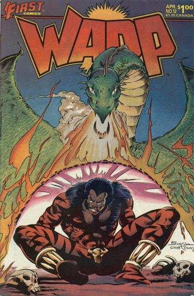 Warp #12 comic books for sale