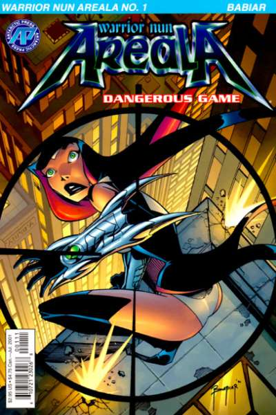 Warrior Nun Areala: Dangerous Game comic books