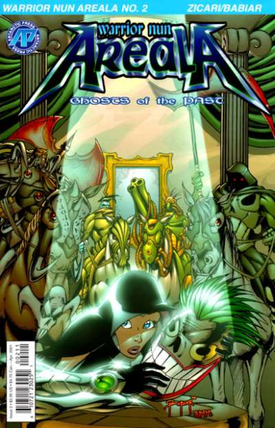 Warrior Nun Areala: Ghosts of the Past #2 Comic Books - Covers, Scans, Photos  in Warrior Nun Areala: Ghosts of the Past Comic Books - Covers, Scans, Gallery