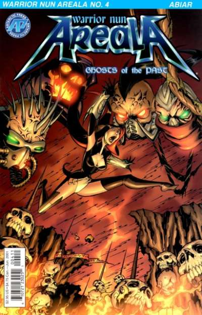 Warrior Nun Areala: Ghosts of the Past #4 Comic Books - Covers, Scans, Photos  in Warrior Nun Areala: Ghosts of the Past Comic Books - Covers, Scans, Gallery