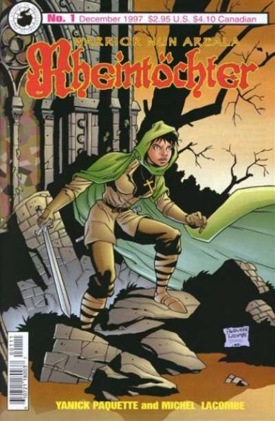 Warrior Nun Areala: Rheintochter comic books